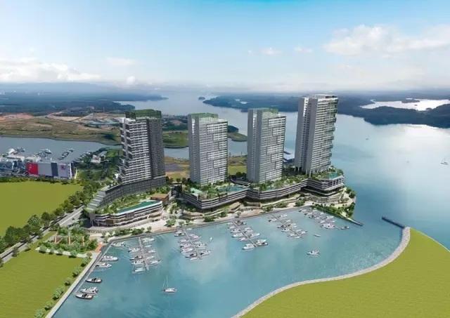 马来西亚新山南港湾阁
