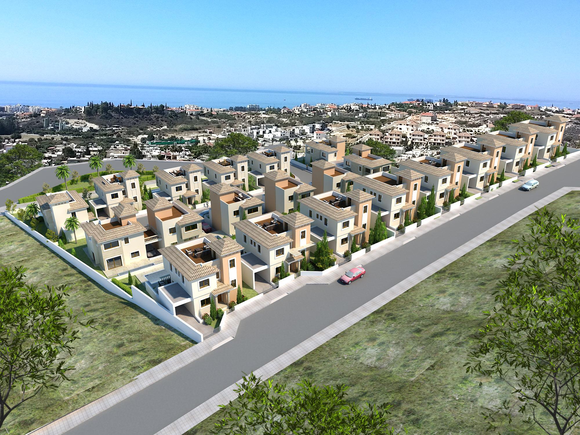 塞浦路斯房产:利马索尔钻石卡萨家园