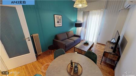 希腊便宜的房子:雅典市中心23平米公寓7.5万欧