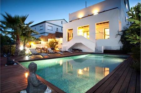 西班牙房产:巴塞罗那独栋别墅5室  海景露台