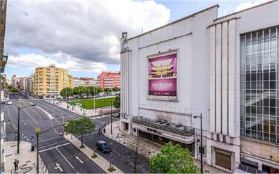 葡萄牙里斯本市中心3房 紧邻国王大道理工学院 房价45.4万欧