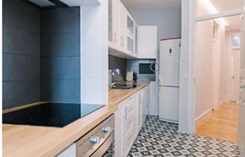 葡萄牙房产:里斯本地铁站旁3房公寓 精装修 房价50万欧