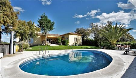西班牙房产:马德里新塞维利亚区7室奢阔山顶庄园别墅