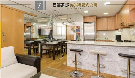 西班牙房产:巴塞罗那埃尔斯复式公寓 38.5万欧