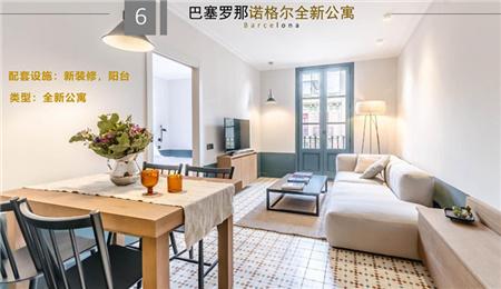 巴塞罗那扩展区诺格尔全新公寓 52.5万欧起