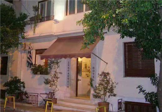 希腊雅典卫城脚下整栋民宿酒店 22个房300万欧