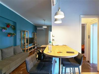 希腊买房移民:雅典市中心精装民宿公寓 一房一厅