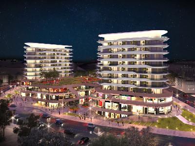 伊斯坦布尔房产:市中心低密度全新1-3房