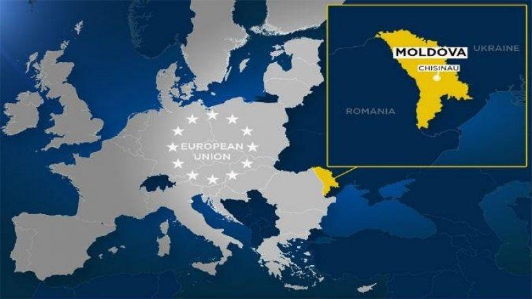 摩尔多瓦地理位置图