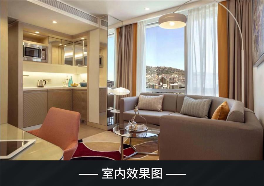 伊斯坦布尔房产:Rotana罗塔娜酒店公寓 购房移民