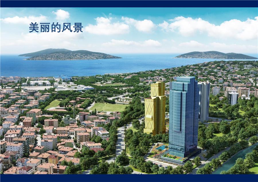 伊斯坦布尔新CBD Maltepe区亚当大厦写字楼及公寓