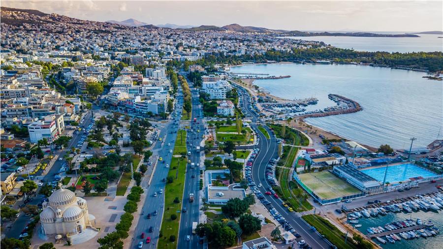 希腊雅典房产:比港海景高层公寓 送超级大阳台