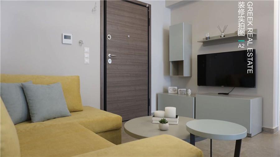 希腊买房移民:雅典市中心包租公寓 1-2房 高档装修