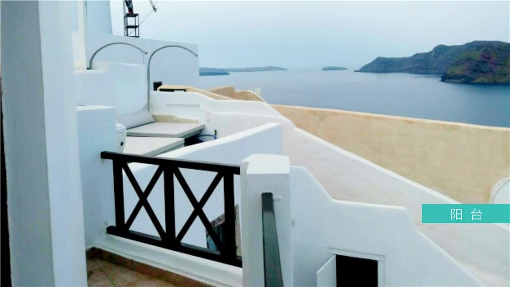 希腊圣托里尼岛房产:69平米小别墅 88万欧