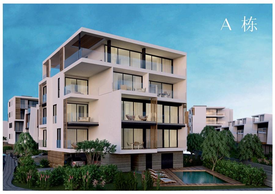 塞浦路斯帕福斯市区2-4房公寓及别墅社区 房价30.8万欧起