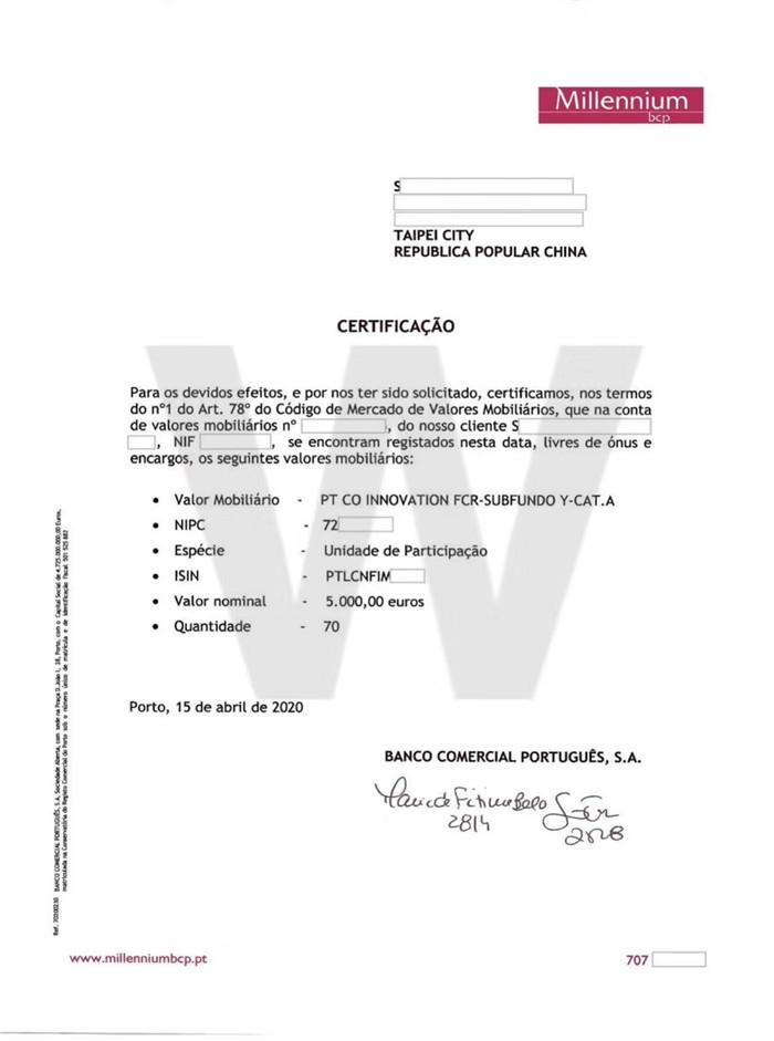 2020.04 葡萄牙35万基金移民成功案例分享