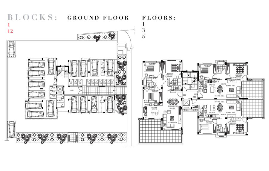 塞浦路斯房产:利马索尔房赌场旁高级公寓 2700欧/平米