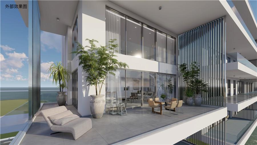 塞浦路斯帕福斯房产:市中心海景高层公寓 房价200万起