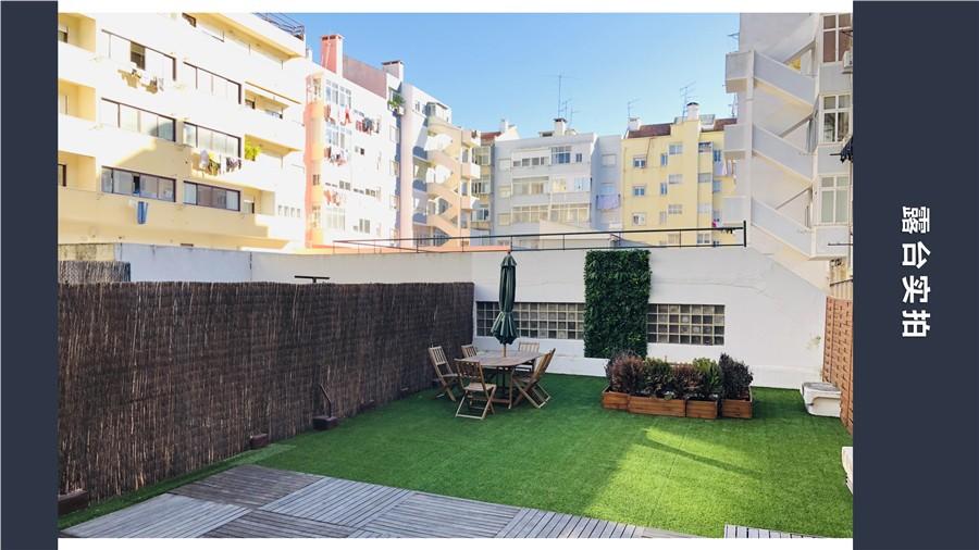 葡萄牙购房移民:里斯本法国国际学校旁单身公寓 房价37.5万欧