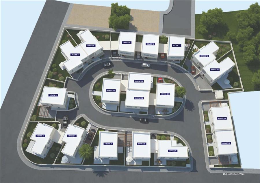 拉纳卡房产:别墅小区 30万欧元起