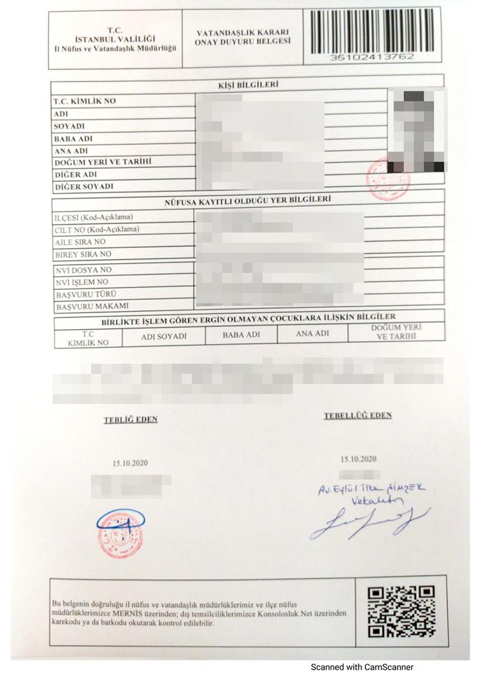 土耳其护照融资成功案例-3个多月获批