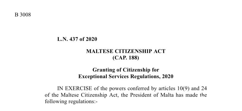 马耳他护照移民:推出最新卓越投资者入籍政策