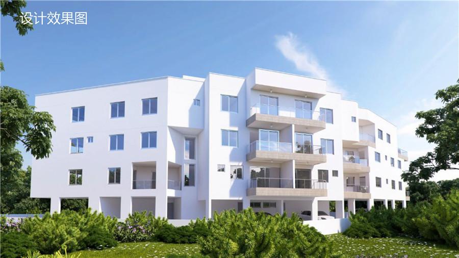 帕福斯房产:市区迪奥尼西亚豪华公寓