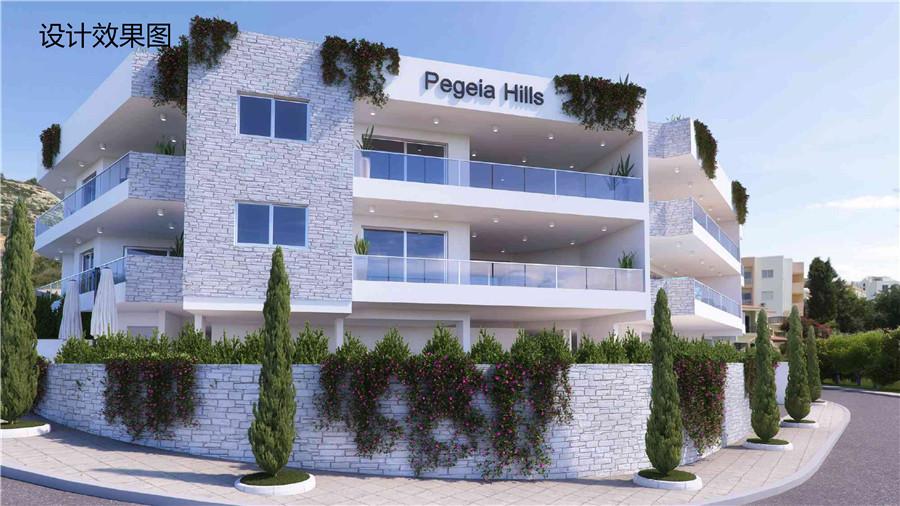 帕福斯pegeia hills佩雅全海景公寓