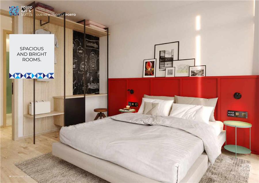 葡萄牙波尔图艺术酒店公寓Art's Suites