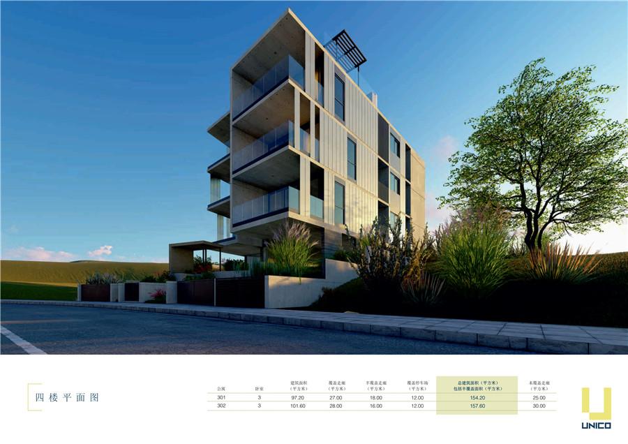 塞浦路斯买房移民:利马索尔市区Unico公寓