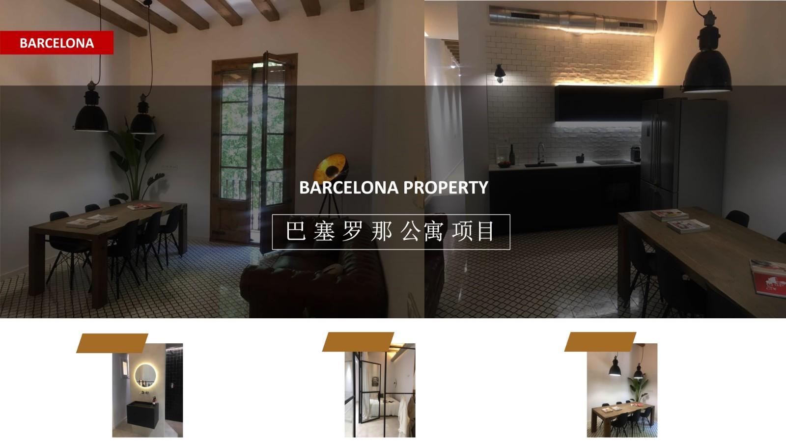 西班牙购房移民:巴塞罗那市区精装3房