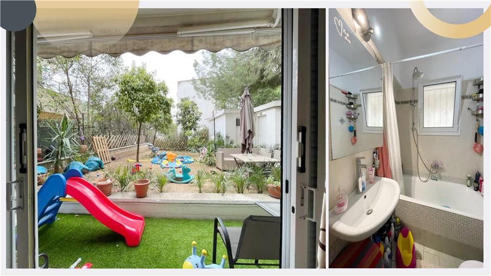 希腊买房移民:雅典北部使馆区哈兰德里 2房2卫