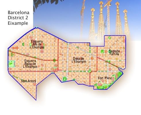 西班牙买房移民:在巴塞罗那扩展区L'Eixample区买房有什么好?