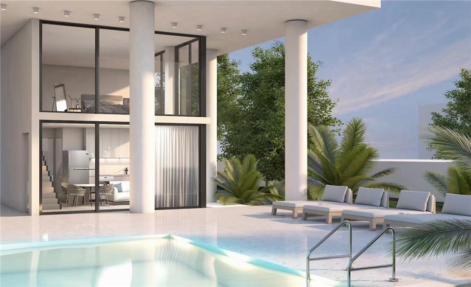 希腊房产:格利法达低密度1-3房全新建精装公寓