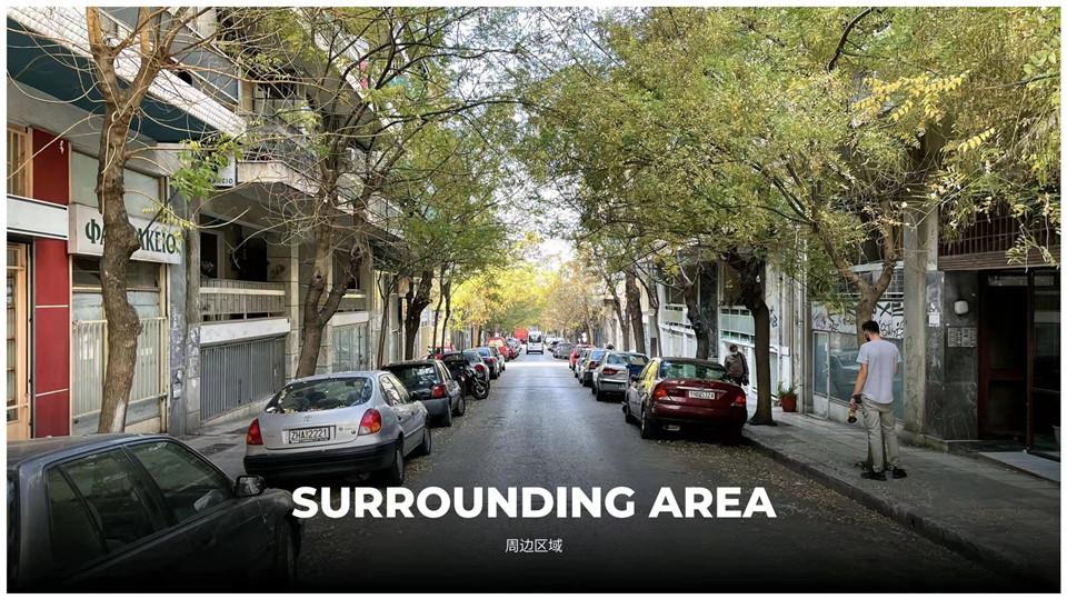 雅典市中心阿瑞斯公园附近94㎡ 3室1厅