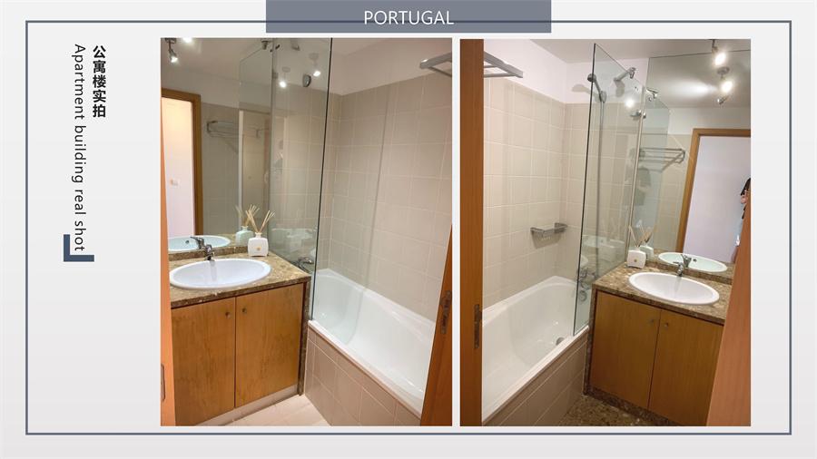 葡萄牙房产:里斯本卢米亚区大3房 带车位
